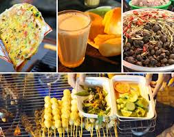 foods at Dalat night market